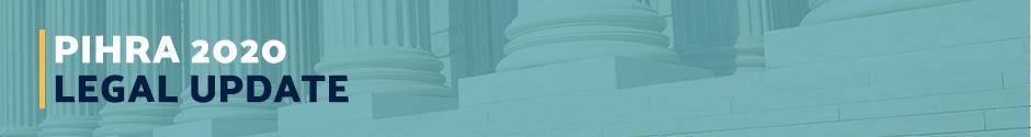 The Best PIHRA 2020 California Legal Update