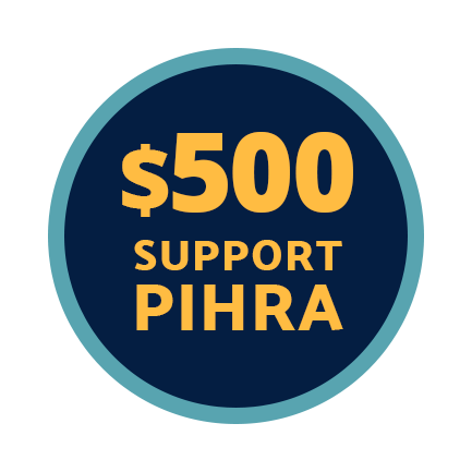 Send $500 to Support PIHRA