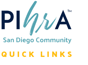 PIHRA San Diego Community Quick Links