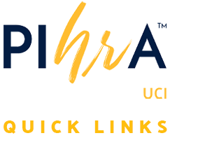 PIHRA UCI Quick Links