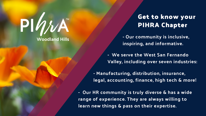 Get To Know PIHRA Woodland Hills